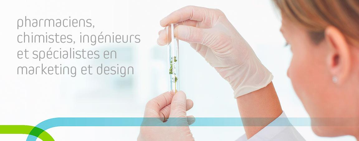 Laboratoire spécialisé dans la cosmétique bio