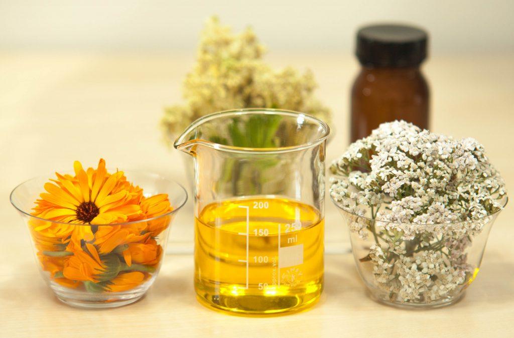 Información sobre aceites esenciales para cosmética natural